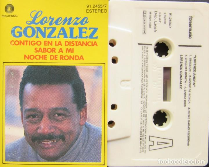 LORENZO GONZÁLEZ - LORENZO AHORA (Música - Casetes)