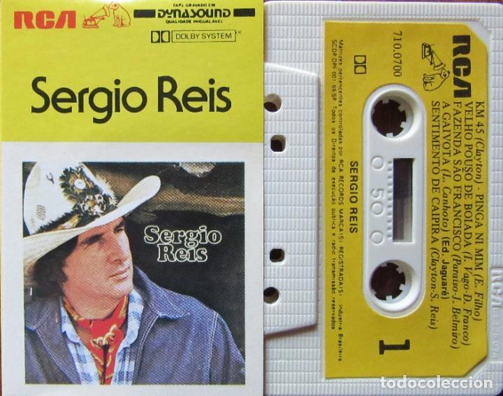 SERGIO REIS (Música - Casetes)