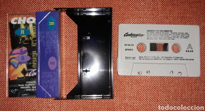 Casetes antiguos: Recopilatorio Chocolate en Directo - Foto 2 - 211791090