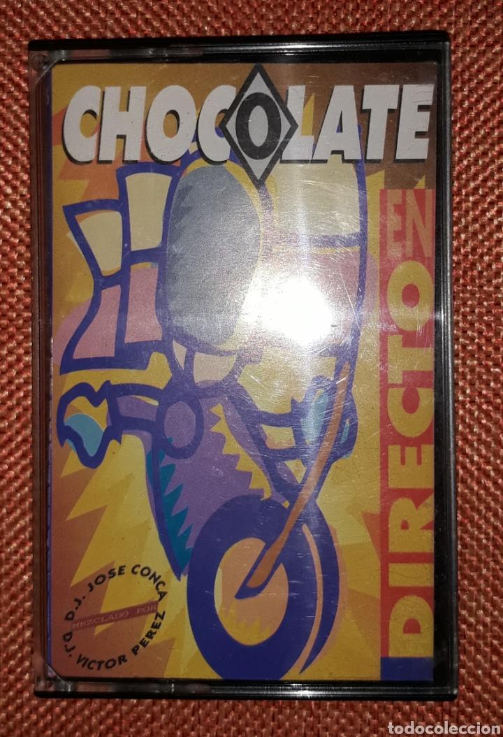 RECOPILATORIO CHOCOLATE EN DIRECTO (Música - Casetes)