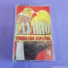 Casetes antiguos: CINTA DE CASSETE CANTO DE CANARIO. Lote 211986701