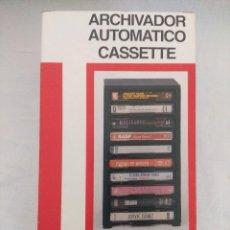 Casetes antiguos: ARCHIVADOR AUTOMATICO DE CASETES /NUEVO.. Lote 212008075
