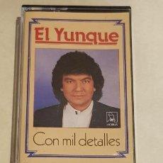 Casetes antiguos: EL YUNQUE / CON MIL DETALLES / MC - HORUS-1989 / IMPECABLE.. Lote 212014705