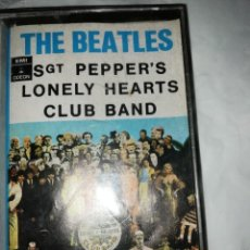 Casetes antiguos: CASETE THE BEATLES SGT. PEPPER'S LONELY HEARTS CLUB BAND. Lote 212150206