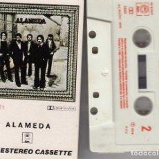 Cassette antiche: ALAMEDA - ALAMEDA - CINTA DE CASETE CASSETTE TAPE - ROCK PROGRESIVO ANDALUZ. Lote 212590872