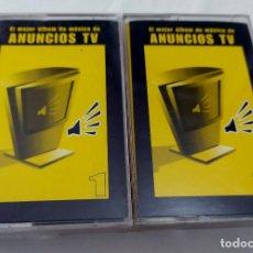 Casetes antiguos: CINTA CASSETTE - VARIOS - ANUNCIOS DE TV - PUBLICIDAD. Lote 128112515