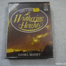 Casetes antiguos: WUTHERING HEIGHTS / CUMBRES BORRASCOSAS. READ BY DANIEL MASSEY - AUDIO-BOOK 2 CASSETTES - INGLES. Lote 212798176
