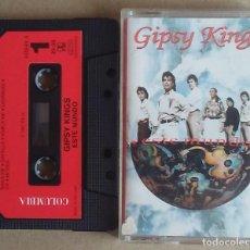 Cassetes antigas: GIPSY KINGS ESTE MUNDO P.E.M./COLUMBIA 1991 CARATULA DESPLEGABLE. Lote 213367831
