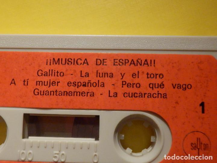 Casetes antiguos: Cinta de Cassette - Música de España - Diresa 1970 - Foto 2 - 213443991