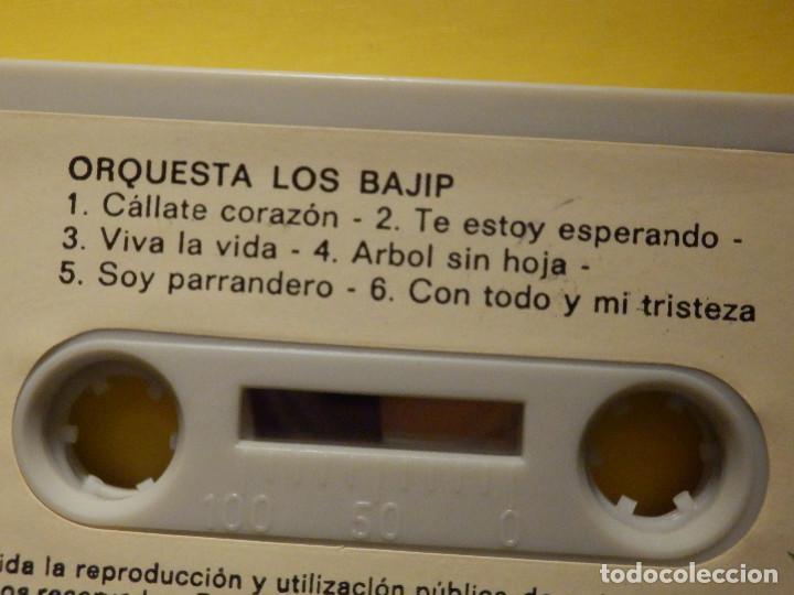 Casetes antiguos: Cinta de Cassette - Los Bajip de la Gomera - Orquesta - Canary Records 1982 - Foto 2 - 213444040