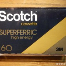 Cassettes Anciennes: CINTA DE CASSETTE - VIRGEN PARA GRABAR - GRABACIONES - SCOTCH - SUPERFERRIC HIGH ENERGY - 60 MINUTOS. Lote 213543555
