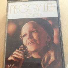 "Cassettes Anciennes: PEGGY LEE- LET'S LOVE- ""RESERVADO"". Lote 213560180"