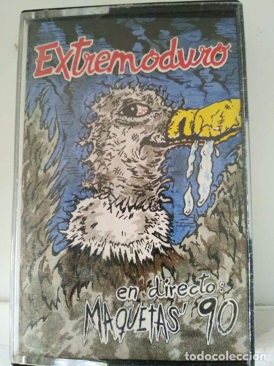 EXTREMODURO - EN DIRECTO: MAQUETAS' 90 - CASSETTE DE 1996 (Música - Casetes)