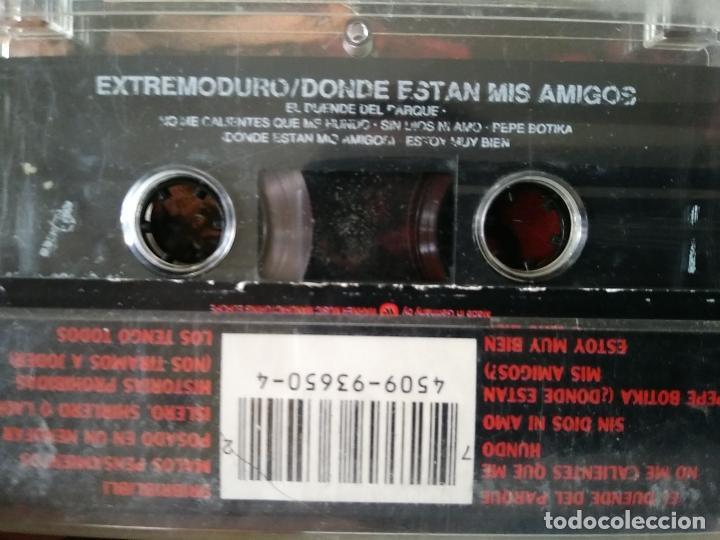 Casetes antiguos: Extremoduro - ¿Dónde están mis amigos? - Cassette de 1993 - Foto 3 - 213603912