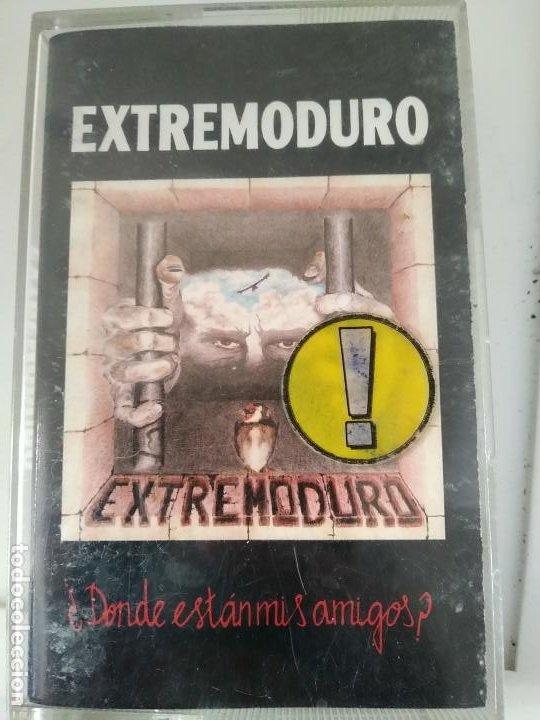 EXTREMODURO - ¿DÓNDE ESTÁN MIS AMIGOS? - CASSETTE DE 1993 (Música - Casetes)