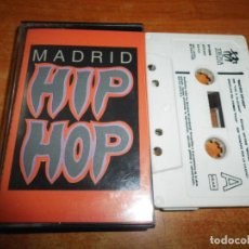 Casetes antiguos: MADRID HIP HOP CASETE CASSETTE AÑO 1989 DNI SINDICATO DEL CRIMEN QSC ESTADO CRITICO. Lote 213978111