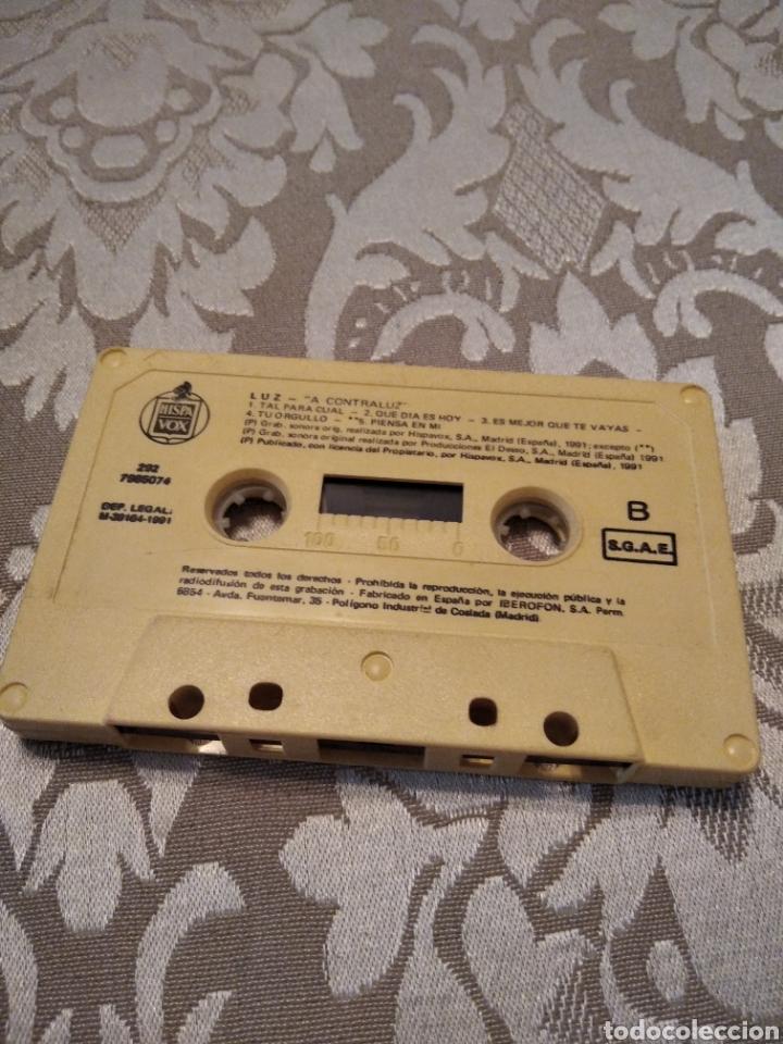 Casetes antiguos: Luz . A Contraluz casete cinta cassette - Foto 4 - 214043275