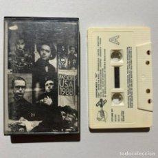 Casetes antiguos: CINTA CASSETTE DEPECHE MODE 101 EDICIÓN ESPAÑOLA DE 1989. Lote 214239568