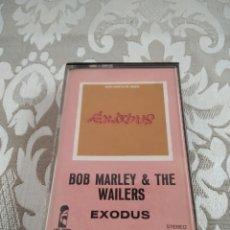Casetes antiguos: BOB MARLEY & THE WAILERS EXODUS CASETE CINTA. Lote 214625872