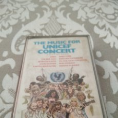 Casetes antiguos: THE MUSIC FOR UNICEF CONCERT A GIFT OF SONG CASETE CINTA CASSETTE. Lote 214786423