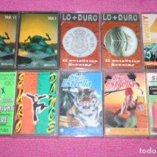 Cassette antiche: LOTE Nº 15 ---) 10 CASETES MUSICA VARIADA ** LIQUIDACIÓN ** CERTIFICADO ESPAÑA PENINSULAR SOLO 5 €. Lote 215266793