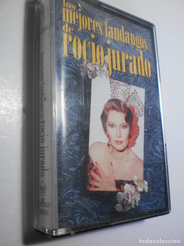 CASETE, CINTA, CASSETTE. LOS MEJORES FANDANGOS DE ROCÍO JURADO. RCA 1980 SPAIN (BUEN ESTADO) (Música - Casetes)