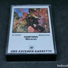 Casetes antiguos: CASETE - SANTANA - ABRAXAS - 1982. Lote 215386965