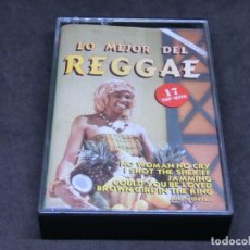 Cassettes Anciennes: CASETE - LO MEJOR DEL REGGAE - 17 TOP HITS - 1989. Lote 215479607