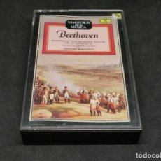 Cassettes Anciennes: BEETHOVEN SINFONIA Nº 3 EN MI BEMOL MAYOR OP. 55 HEROICA FILARMÓNICA DE VIENA LEONARD BERNSTEIN. Lote 215491805