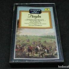 Cassettes Anciennes: CASETE - MAESTROS DE LA MÚSICA - HAYDN - SINFONÍA CONCERTANTE - PINCHAS ZUKERMAN - ÁNGELES. Lote 215619127