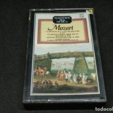 Cassettes Anciennes: CASETE - MAESTROS DE LA MÚSICA MOZART CUARTETO 15 RE MAYOR K421 OBOE FA MAYOR 370 ADAGIO DO K580A. Lote 215624580