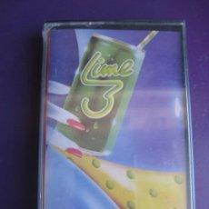 Cassettes Anciennes: LIME 3 - CASETE POLYDOR 1983 PRECINTADA - ELECTRONICA DISCO 80'S - HI NRG. Lote 215718746