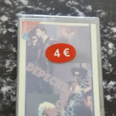 Casetes antiguos: CASSETTE DEPECHE MODE-HYPERACTIVE.IN CONCERT.IC-9226.1993.SEALED.STICKERS COVER.. Lote 215787656