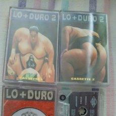 Cassette antiche: LO MÁS DURO CASSETTE. Lote 216580591