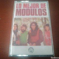 Casetes antiguos: K7 LO MEJOR DE LOS MÓDULOS 1980 CASSETTE CASETE CINTA. Lote 216712107