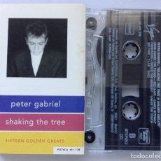 Casetes antiguos: PETER GABRIEL SHAKING THE TREE CASETE. Lote 216844967