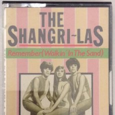 Casetes antiguos: THE SHANGRILAS REMENBER (WALKING' IN THE SAND) CASETE. Lote 216845926