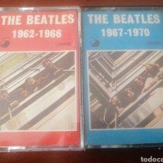 Casetes antiguos: 2 K7 THE BEATLES 1962 - 1966 VOL I 1967 - 1970 VOLII CASSETTE CASETE CINTA. Lote 216883058