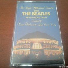 Casetes antiguos: K7 THE BEATLES THE ROYAL PHILARMONIC ORCHESTRA PLAYS 20 TH ANNIVERSARY CONCERT CASSETTE CASETE CINTA. Lote 216892001
