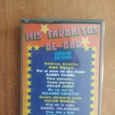 Cassette antiche: MIS FAVORITOS DE ORO. NINO BRAVO. DANNY DANIEL. OSCAR JANOT. RICARDO CERATO. ETC. SMASH. AÑO 1979.. Lote 217627187
