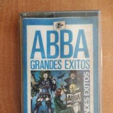 Cassette antiche: ABBA. GRANDES EXITOS. CARNABY. AÑO 1976.. Lote 217748823