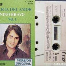 Casetes antiguos: NINO BRAVO - PUERTA DEL AMOR. Lote 218161928