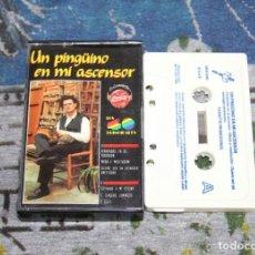 Casetes antiguos: UN PINGÜINO EN MI ASCENSOR - 40 PRINCIPALES - 5KB-040 - DRO - CASSETTE. Lote 104872331