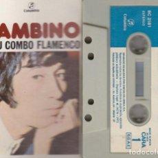 Cassette antiche: BAMBINO - BAMBINO Y SU COMBO FLAMENCO - CINTA DE CASETE - CASSETTE TAPE - RUMBAS #. Lote 218386911