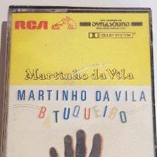 Casetes antiguos: MARTINHO DA VILA / BATUQUEIRO / MC - RCA-BRASIL-1986 / PRECINTADO / MUY DIFÍCIL.. Lote 218492323