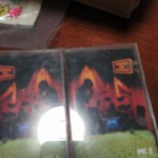 Cassetes antigas: CINTAS HÉROES DEL SILENCIO CINTA 1 Y 2 PARA SIENPRE. Lote 218640092