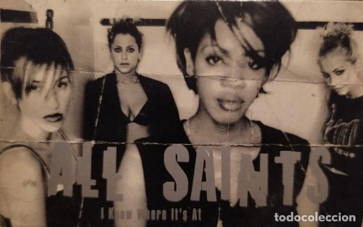 ALL SAINTS I KNOW WHERE IT,S AT (Música - Casetes)