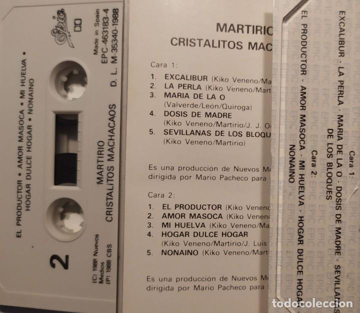 Casetes antiguos: MARTIRIO CRISTALITOS MACHACAOS - Foto 2 - 218705720