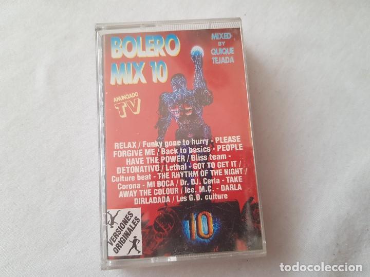 CASETE BOLERO MIX 10 - 1994 (Música - Casetes)