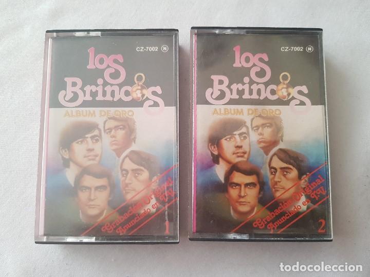 LOTE 2 CASETE LOS BRINCOS - 1981 (Música - Casetes)